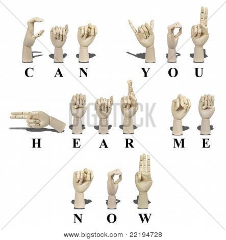 Can You Hear Me Now In Sign Language