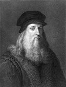 stock photo of leonardo da vinci  - Leonardo Da Vinci  - JPG