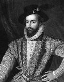 image of courtier  - Walter Raleigh  - JPG