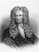 stock photo of physicist  - Isaac Newton  - JPG