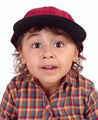 Постер, плакат: Малыш с выражением сюрприз