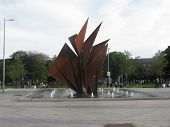 picture of galway  - Eyre Square - JPG