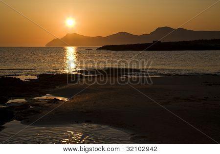 Morgendämmerung auf Mallorca
