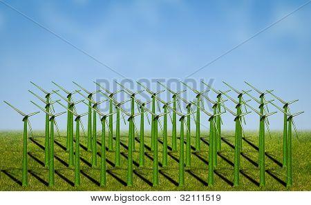 Turbinas de energia eólica