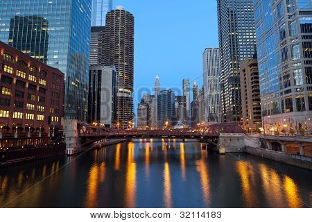 Chicago Downtown.