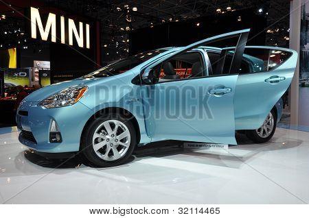 Toyota Prius C coche