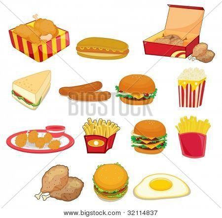 Comidas animadas - Imagui