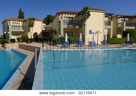 Pool of luxury hotel, Cyprus