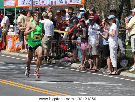 Boston Marathon 2012 Meile 21