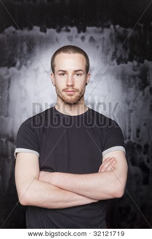 Good Looking Man Portrait