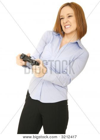 Woman Play Game