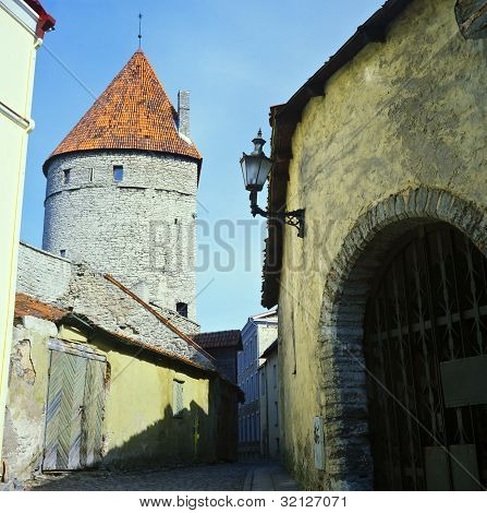Old Tallinn Fortress Wall
