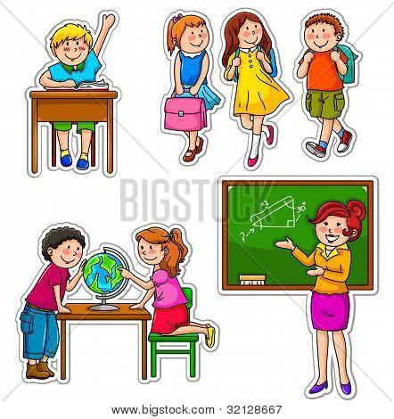 Schulkinder