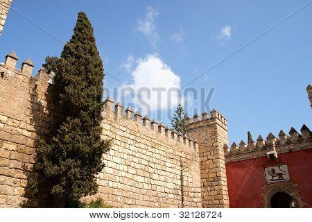 Reales Alcazares (royal Alcazars) Of Seville