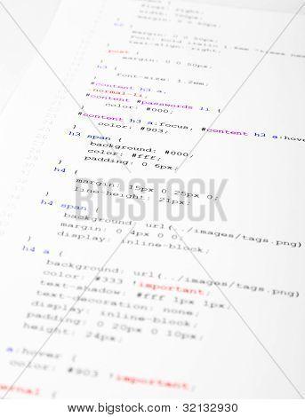 Printed Code