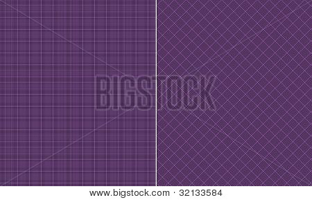 Black & Purple Houndstooth Paper Set