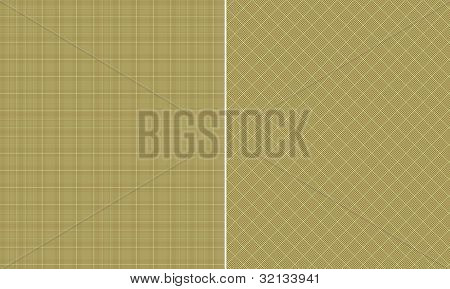 Lime & Brown  Houndstooth Paper Set