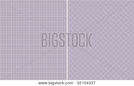 Purple & White Houndstooth Paper Set