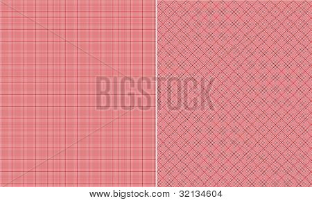 Red Houndstooth Paper Set