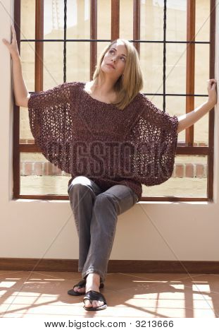 Windowsil Girl