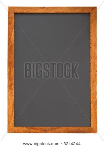 Empty Blackboard Vertical Cutout
