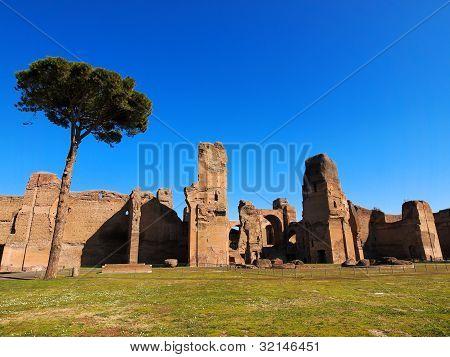 Termas De Caracalla, Roma, Italia