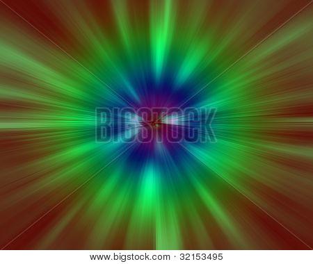 fundo com multi colorido zoom efeito especial de linhas de movimento