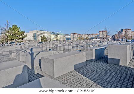 The Denkmal Fur Die Juden Ermordeten Europe  At Berlin, Germany