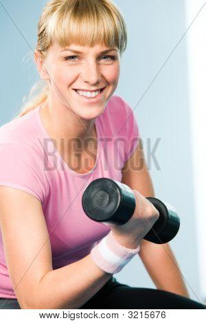 Atleta feliz