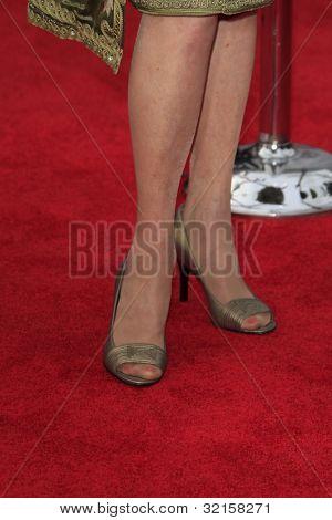LOS ANGELES - APR 12:  Tippi Hedren arrives at the TCM 40th Anniv of