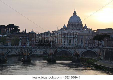 The Vatican City in Rome.