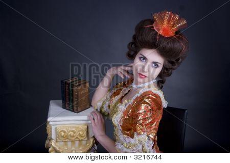 Elegant Portret Of A Woman