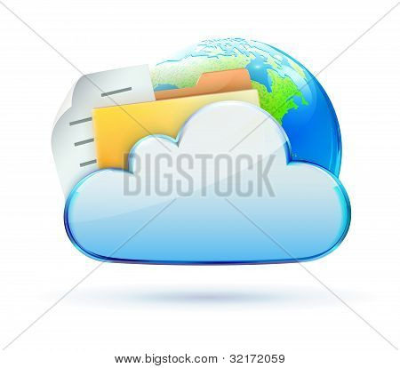 Cloud Concept Icon