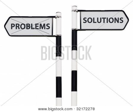 Solutions And Problems Signs