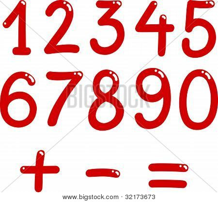 Numbers From Zero To Nine