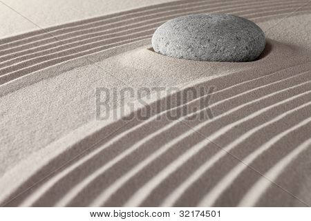 zen meditation garden rocks and stones in lines concept for spirituality and relaxation tranquil scene symbol for purity