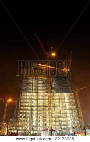 Big construction site