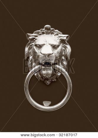 Head Of Lion Doorknocker