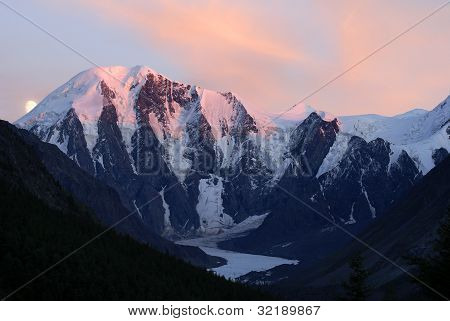 evening panorama -masei valley Altai - Russia