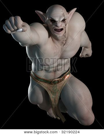 Goblin or troll fighting champion - 2