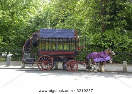 Old Coach In Dublin