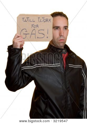 Will Work For Gas