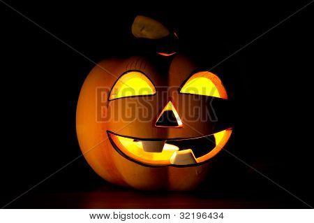 The Halloween Pumpkin