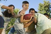 foto of mayhem  - Family Football Game - JPG