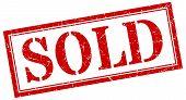 Sold Stamp. Sold Square Grunge Sign. Sold poster