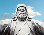 stock photo of bator  - Genghis khan - JPG