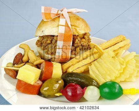 Mini Slider Burger