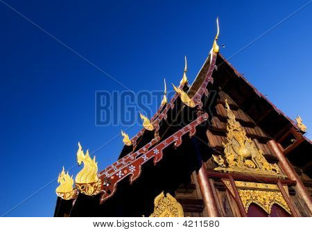 Chaing Mai Teak Wat