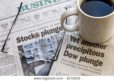Another Dow Plunge