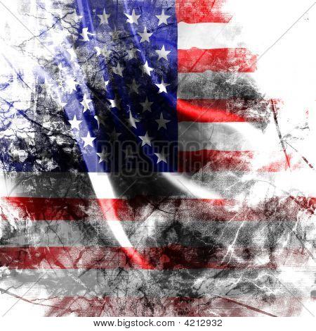 Amerikanische Flagge Hintergrund